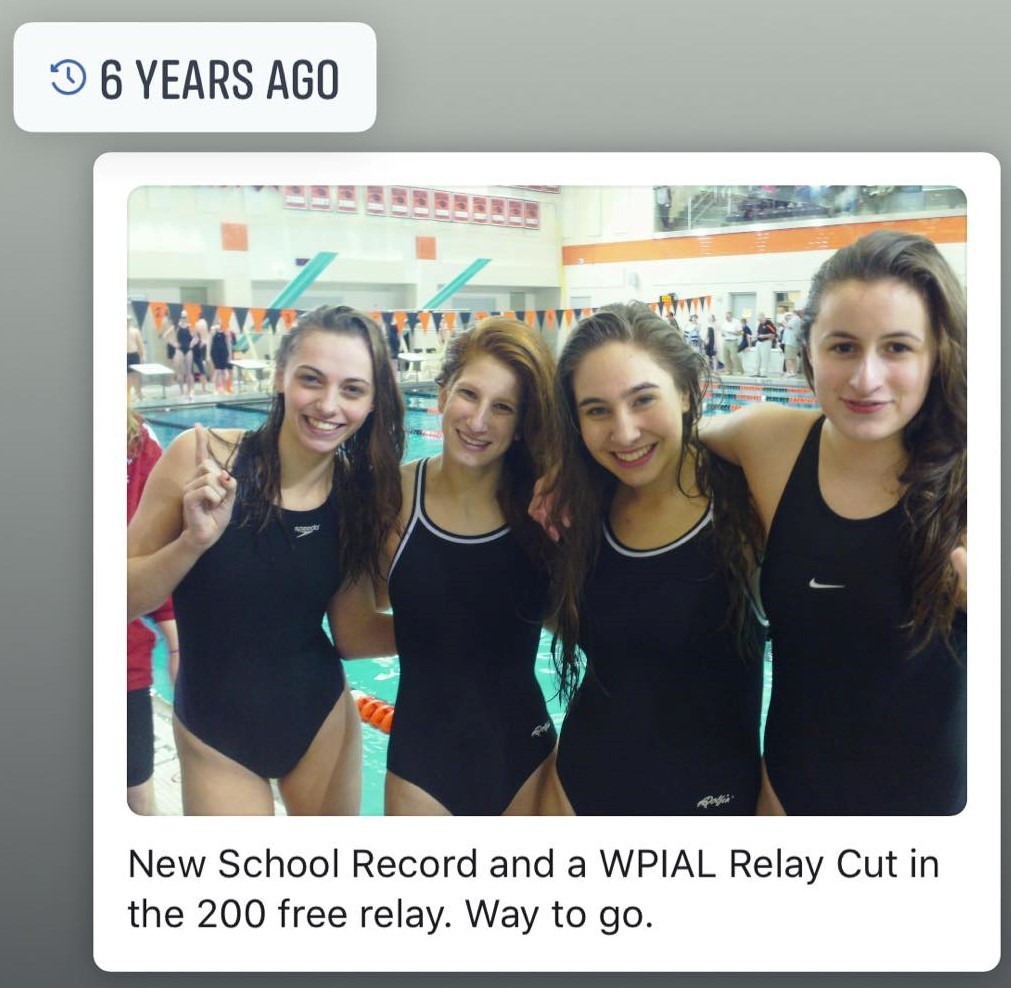 Four girl relay Qualifiers for WPIAL Meet, first girls relay in Obama School History
