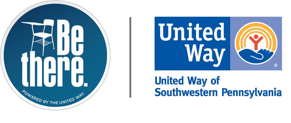Be there logo with the United Way