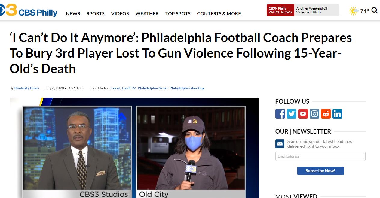 Gun violence in Philly