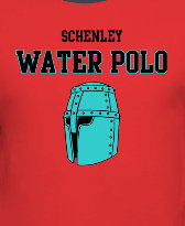 Schenley water polo helmet