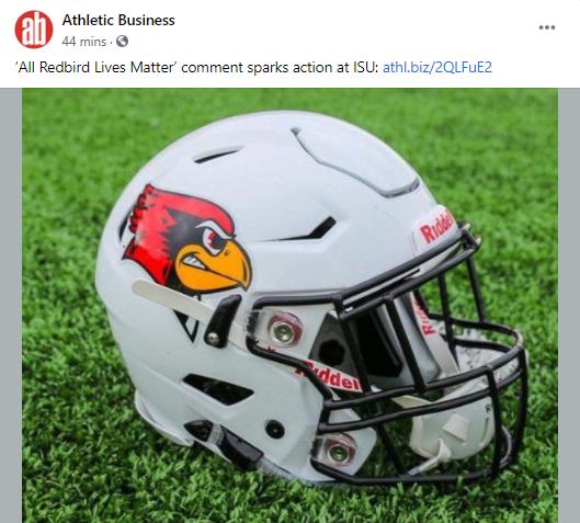 Redbirds football helmet