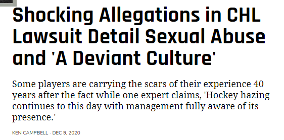 allegations detail sexual deviant culture